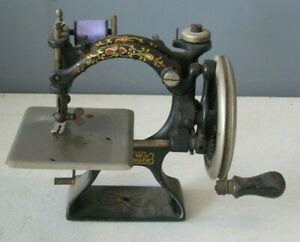 1901 Antique F&W Foley and Williams Automatic Sewing Machine Hand Crank #MS2