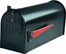 G2 Mississippi USA / US Black Metal Steel Post Mailbox Letter Box Postbox