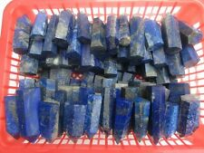 16-22pcs  BLUE LAPIS GENERATOR Crystal 6 Sided Point Pyrite Wand Self Standing
