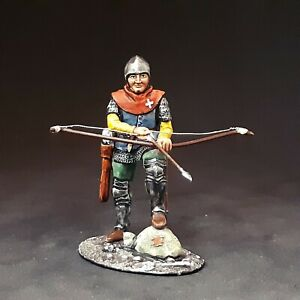 long bow archer tin soldier 54 mm 1/32 scale HAND PAINTED