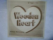 DAVE KENNEDY & AMBASSADORS-Wooden Heart,You Didn't Listen 1036 45,w/RARE SLEEVE