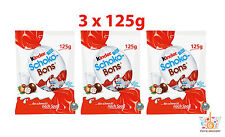 3 x Ferrero Kinder Schoko Bons Chocolate Balls Candy Treats 3 x 125g 4.4oz
