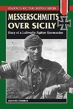 WW2 German Luftwaffe Messerschmitts over Sicily