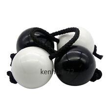 Black and White Classic Asalato Patica Rhythm Sandball Drum Bag