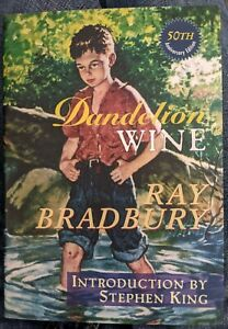 Ray Bradbury Stephen King; Dandelion Wine; SIGNED; NUMBERED; First; SLIPCASE wow