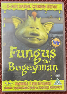 Fungus The Bogeyman DVD Special Edition (2 Discs) NEW SEALED Martin Clunes EB19
