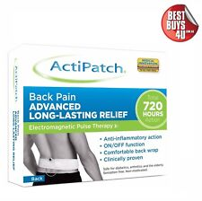 ACTIPATCH ELECTROMAGNETIC PULSE THERAPY - BACK PAIN RELIEF