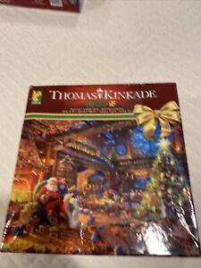 Thomas Kinkade 2018 Jigsaw Puzzle 3328-39 Santa's Workshop Complete