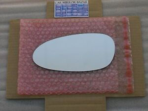 848L Replacement Mirror Glass for PORSCHE 911 Boxster Cayman Driver Side Left LH