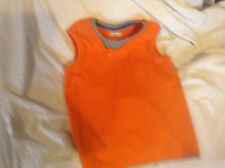 Patternless Sleeveless T-Shirts & Tops (2-16 Years) for Boys