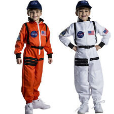 Astronaut Costume for Kids – NASA Orange/White Space Suit By Dress Up America