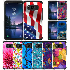 For Samsung Galaxy S8/S8 Plus/S8 Active Slim Hybrid Armor Case Dual Layer Cover