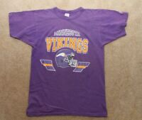 Champion Minnesota Vikings Vintage T-shirt - Small Purple