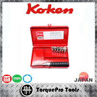 KOKEN 2203M 1/4'' Metric Socket Set