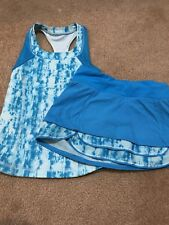 Ivivva Matching Tank (size 4) And Skort (size 6) Blue