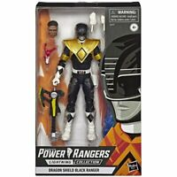 Power Rangers Lightning Collection Dino Charge Black Ranger EXCLUSIVE FIGURE