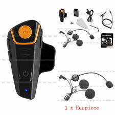 1000m BT-S2 Bluetooth Intercom Motorcycle Helmet Headset Interphone FM Radio DH