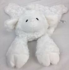 Baby G Gund Lamb Snuggle Blanket Lovey So Soft Nursery Satin