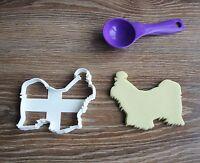 Shih Tzu Cookie Cutter Dog Pup Pet Treat puppy Pupcake topper