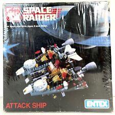 Loc Blocs Space Raider Attack Ship by Entex Vintage # 1809