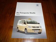 VW Transporter TAXI Prospekt 01/2005