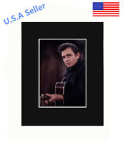 Johnny Cash 8x10 matted Art Print Poster Decor picture Gift Photograph Display