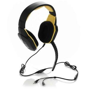 NEW 3.5mm Pro XBOX PC PS4 Gaming Headphone Over-ear Stereo Headset MIC Australia