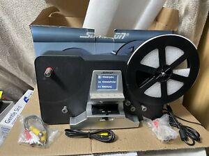 """Somikon Super-8 HD Filmscanner Film Scanner Digitalisierer bis 7"""" Filmsp Wie Neu"""