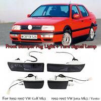 Stoßstange Licht & Signal Lamp Nebelscheinwerfer Für VW Golf Jetta MK3 1992-97