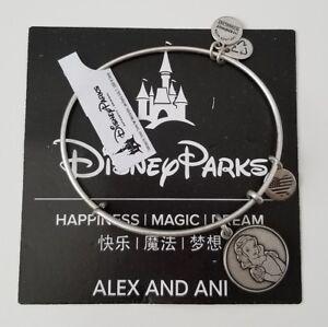 NWT Alex and Ani Disney Snow White Silver Bangle Bracelet Retired