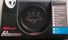 Water Coolant Temperature Gauge & Sender Od 52Mm 24V Clock Wood Auto Mtr1003B24