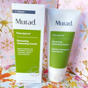 Murad Renewing Cleansing Cream 6.75 oz/ 200 ml Facial Cleanser NEW Free Shipping