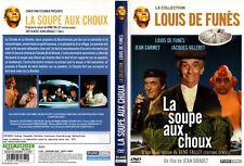 DVD - LA SOUPE AUX CHOUX - Louis De Funès,Jean Carmet,Jacques Villeret,J.Girault