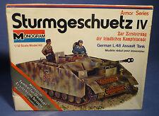 MONOGRAM 8220 Sturmgeschütz Stug IV Panzer German L/48 Tank 1:32 neu OVP F167