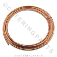 10 METRE ROLL OF 10mm COPPER PIPE / TUBING FOR GAS & WATER PLUMBING GAS FITTING