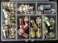 Fits Dodge 29x Asst *BRIGHT* 12V LED Instrument Panel BA9S Light Bulbs Kit NOS