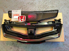 GENUINE HONDA CIVIC TYPE R COMPLETE GRILLE & BADGE 2007-2011