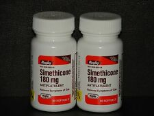Rugby Simethicone Gas Relief 180mg (Compare to Ultra Strength Phazyme) 120ct