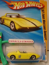 2010 #32 Prem Hot Wheels '62 FORD MUSTANG CONCEPT∞NEW Yellow∞Premier New Models