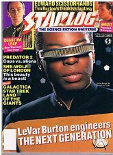 Starlog No.162 / 1991 LeVar Burton / Patrick Swayze