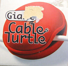 NEW RED CABLE TURTLE CABLE WINDER WIRE ORGANIZER CORD