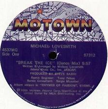 MICHAEL LOVESMITH  - Break The Ice - Motown