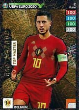 PANINI ADRENALYN XL ROAD TO EURO 2020 EDEN HAZARD TOP MASTER RARE CARD NO 2 MINT