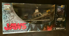 Jaws Deluxe Boxed Set 2001 Movie Maniacs 4 Signed By Richard Dreyfuss, Mcfarlane