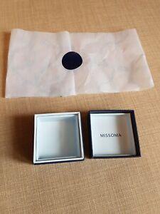 Missoma earrings box NEW CURRENT