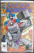 Captain America #311: Grading VF+/NM-