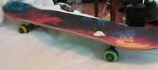 10th Anniv Psycho Deck Rare Skateboard w Tide Dyed Deck & Speed Demons Trucks