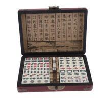 Mini Mahjong Mahjongg Mah Jong Jongg Set  Travel Family Leisure Time
