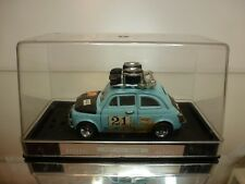NACORAL 1:25 - FIAT 500 RALLY NO= 3552 - EXTREMELY RARE - EXCELLENT IN SHOW CASE