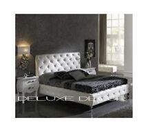 Unbranded Beige Metal Beds & Mattresses